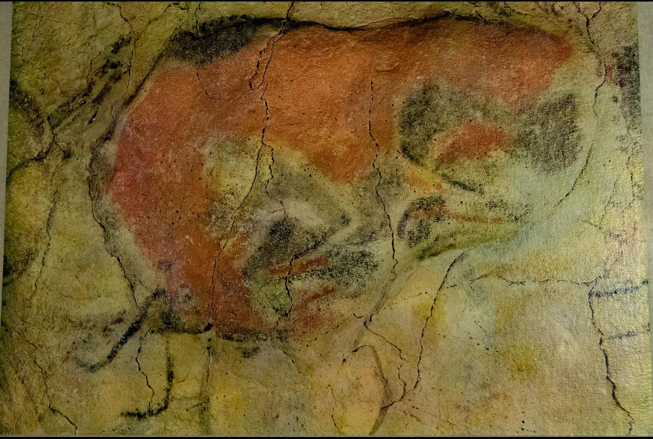 In Santilla del Mar, a dog owner discovered 1868 the Altamira caves after his dog fell into a cave. Altamira paintings date between 15000 and 12000 BC.