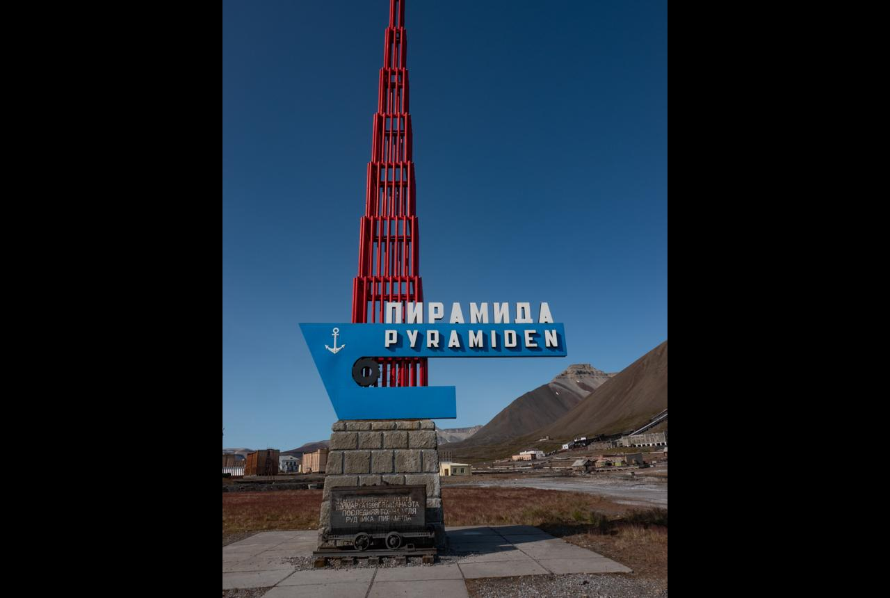 The Pyramid, the abandoned Russian mining village.