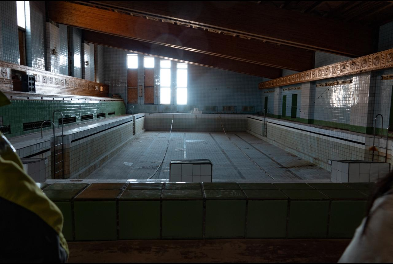 The swimmingpool